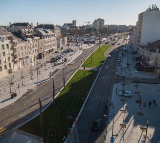 Boulevard Carnot - Tramway Angers Loire Métropole